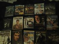 MANY USED DVDS/BLU RAY FOR SALE! COMEDIES, ACTION, SCI