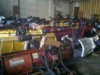 We have over 40 used complete plow setups for many
