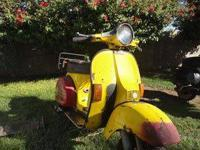 I AM CLEANING OUT MY VESPA GARAGEI am selling three