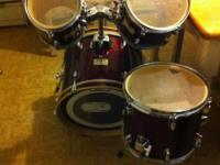 MAPEX SMALL DRUMSET. GREAT SOUND FOR A SMALL KIT. 8""