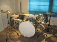 "Kick Drum 24'x18',Snare 14"" Mapex phosphor Bronze (2.3"