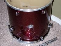 "Here is a new 16"" x 16"" floor tom drum by Mapex that"