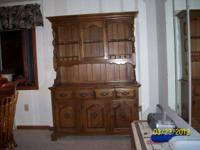 For Sale: 2 piece Maple China Cabinet/ Hutch. $290.00.