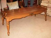 PRICE REDUCED!!! Maple Coffee Table in excellent