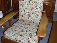 Classic Maple Reclining chair - $150.00. Vintage Maple