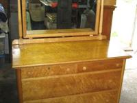 this is a birdseye maple dresser in great condition and