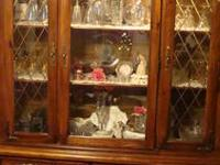Beautiful maple hutch for sale. Originally purchased