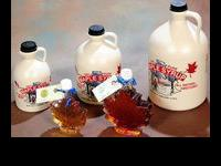100% Pure Maple SyrupGallon $48 Half Gallon $26 Quart