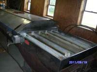older 5ft by 14 ft (king) evaporator home made hood and