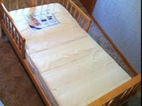 Maple toddler (kid) bed - $35 (Guttenberg IA) For sale