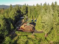 Acustom built, post and beam, log home estate built in