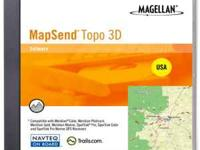 3 disc set for loading all topo in 3d for GPS by
