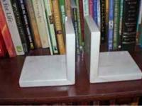 Marble Bookends - excellent condition...Please call or