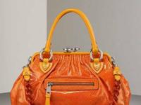 Contact   Marc Jacobs Classic Stam in Orange ($1395