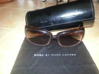 Women's sunglasses by Marc Jacobs, gently worn. Comes