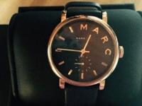 Marc by Marc Jacobs Baker Rose Goldtone Stainless Steel