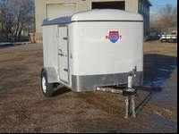 New Lowered Price - 5x8 Enclosed Trailer Comes with