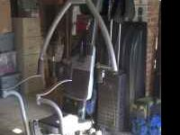 Marcy home gym in excellant condition. Press,