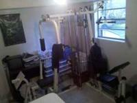 Im selling my home gym it is in excelent condition.