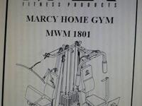 Impex Fitness - Marcy Home Gym has dual stack weights