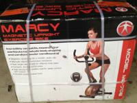 The Marcy Upright Magnetic Resistance Bike is designed