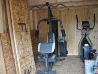 i have a marcy home gym. machine is only a few months