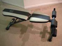 Like new. Barely used. 4-position utility bench for