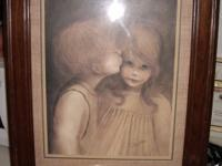 "Have framed World Famous ""MARGARET KANE"" Signed Print"