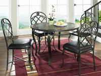 MARGARITA DINING TABLE SET *Elegant Dinette *Made of