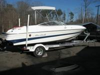 Mariah SX19 BOWRIDER.  powered by a. MERCRUISER 4.3 L