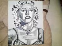I have an original Marilyn Monroe painting I did. It is