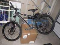 Med frame, this bike is hopped up and in new condition,