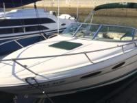 23 Foot Sea Ray Power Boat Perfect for cruising the