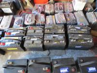 UTILIZED (RECONDITION) DEEP CYCLE MARINE BATTERIES $40