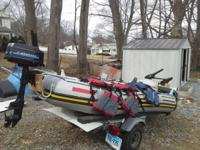 I have for sale itex mariner 4 inflatable boat 3 seat
