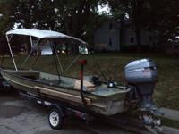 95 mariner 75 hp with tilt and trim runs great oil