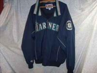 MARINERS BASEBALL JACKET: (Authentic Collector Majestic
