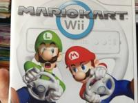 I have a Brand New Mario Kart for WII. Never played