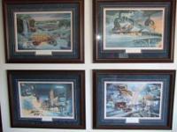 Set of 4 Mankato/North Mankato Marion Anderson prints.