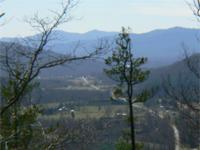 Property is located in gated Linville Mountain Acres,