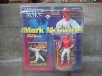 I am selling a Mark Mcgwire 1999 starting lineup action