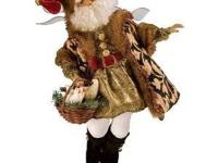 Authentic Mark Roberts 3 French Hens Christmas Fairy,