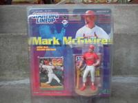 I am selling a Mark Mcgwire 1999 starting linep action