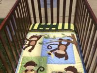 Selling this gorgeous crib, and what you see in the