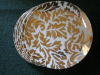 "SIX - 7.5"" LUNCHEON PLATES marked ""Made in Japan for"