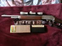 1985GS Marlin 45/70 Stainless Steel Guide Gun with a