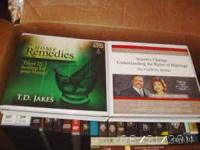 various christian books and dvds.......starting at 5