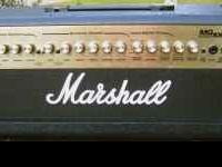 Marshall MG100HDFX guitar amplifier head. 100 watts,