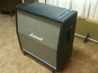Very nice, all original Marshall 1960AX reissue cab.I