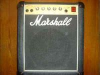 Marshall Lead 12 model 5005 guitar amp made in 1987.